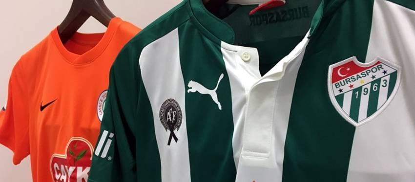 Bursaspor Chapecoense'yi anacak