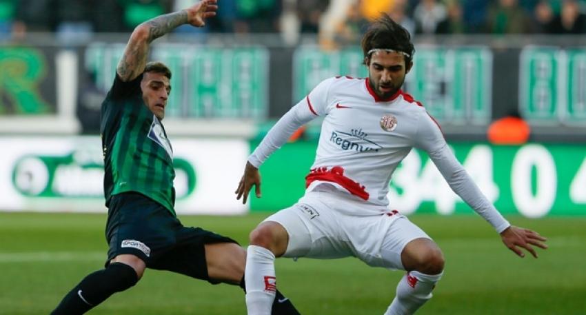 Akhisarspor 1-1 Antalyaspor