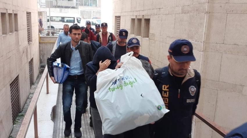 Bursa'da 'Man in the middle attack' operasyonunda 10 tutuklama!