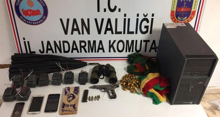 Van'da terör operasyonu: 5 gözaltı