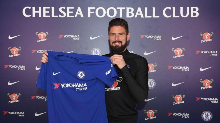 Giroud Chelsea'de