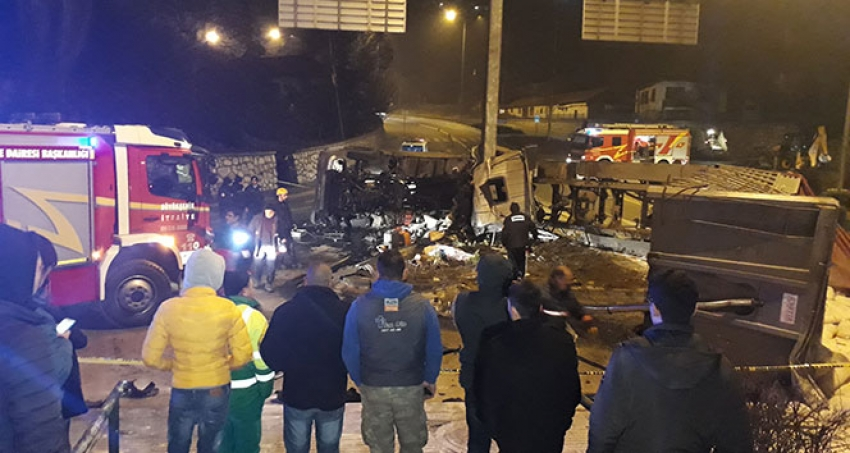 Ankara'da can alan kaza!