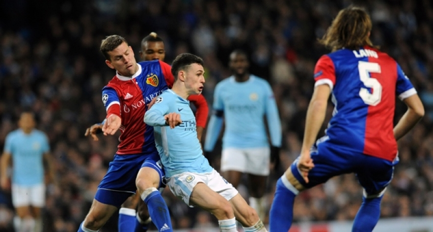 Manchester City 1-2 Basel