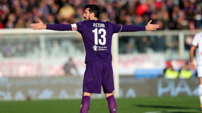 Davide Astori''nin forması emekli edildi