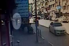 23 Nisana damga vuran cinayet güvenlik kamerasında