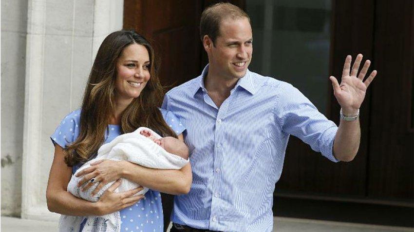 Kraliyet bebeği dünyaya geldi!