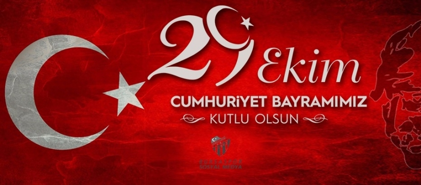 Bursaspor'dan Cumhuriyet mesajı