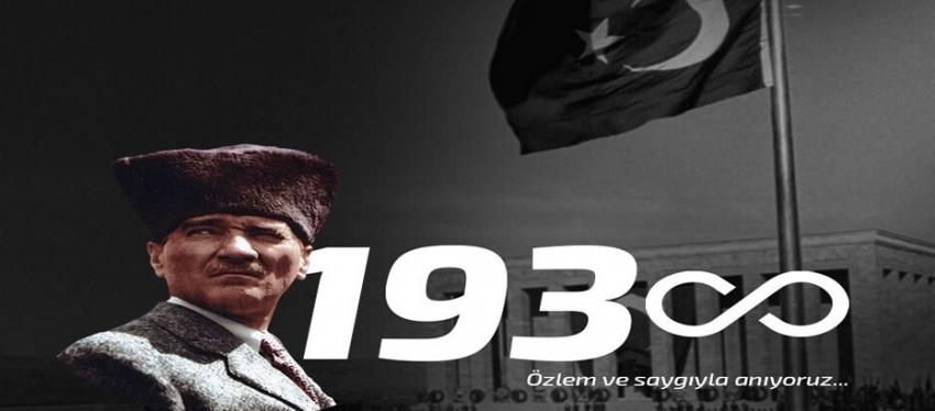 Bursaspor'dan 10 Kasım mesajı