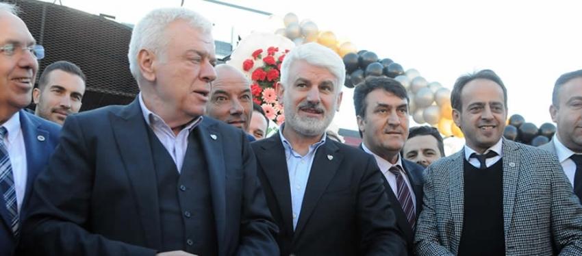 Bursaspor camiası Mahsen Steak'ta buluştu
