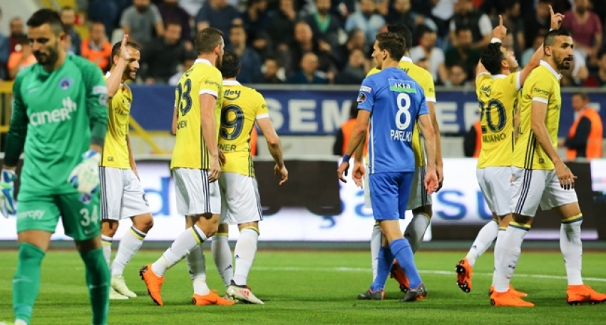 Kasımpaşa 1-4 Fenerbahçe