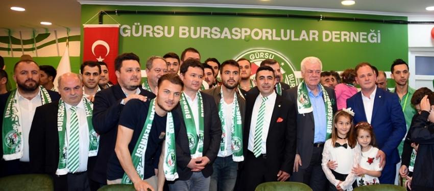 Gürsu Bursasporlular derneği açıldı