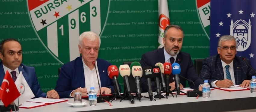 Bursaspor'dan yeni proje!