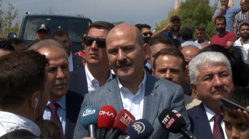 """""""245 bin 300 Suriyeli kardeşimiz geri döndü"""""""