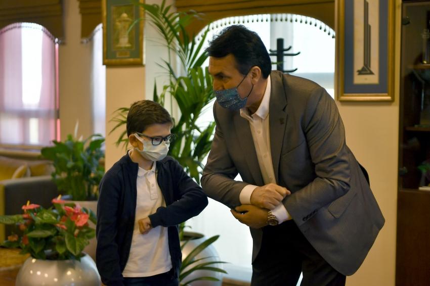 Bursalı çocuklardan Başkan Dündar'a denetim talimatı