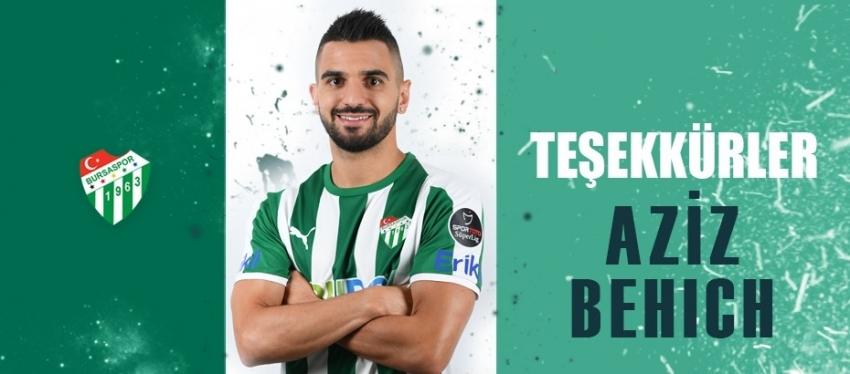 Bursaspor'dan Aziz Behich açıklaması