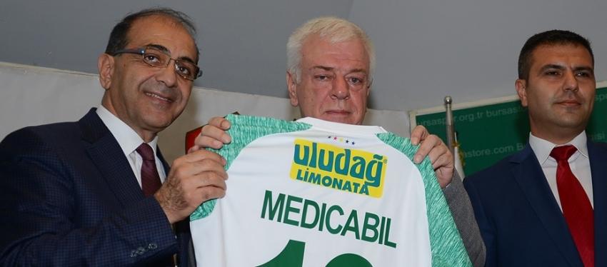 Bursaspor ile Medicabil anlaşması yapıldı