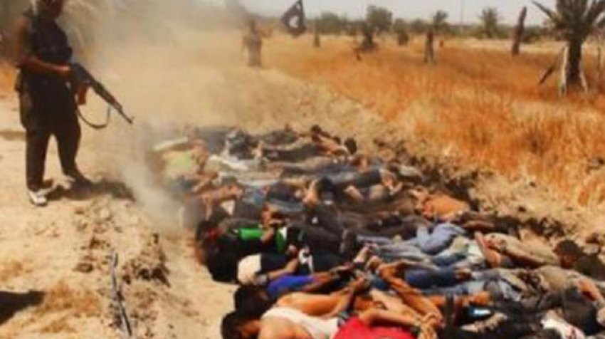 IŞİD'den korkunç katliam!