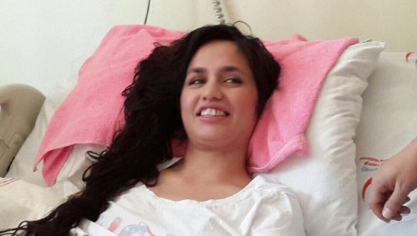 İşte Mutlu Kaya'nın hastanedeki ilk görüntüsü