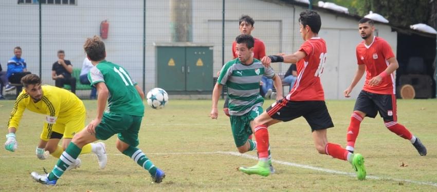 U19 Elit Ligi: Bursaspor 1-1 Demir Grup Sivasspor
