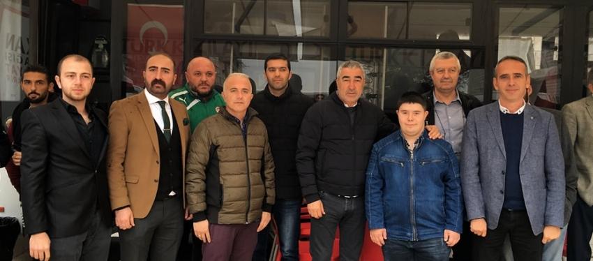 Bursaspor'dan destek