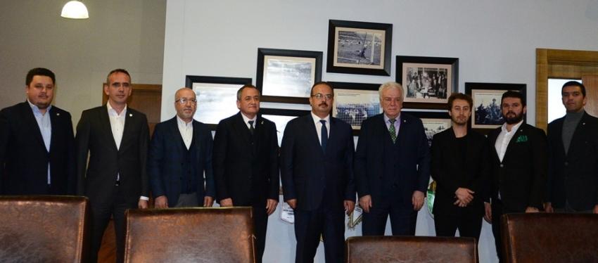 Bursa Valisi Yakup Canbolat'tan ziyaret