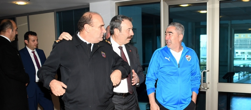 Bursaspor'a ziyaret