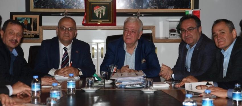 Şahin'den Bursaspor'a ziyaret