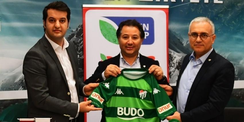 Bursaspor'dan sponsorluk anlaşması