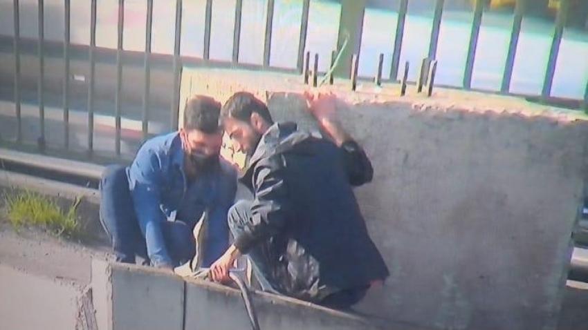 Trafo kablolarını kesen 3 kişi yakalandı
