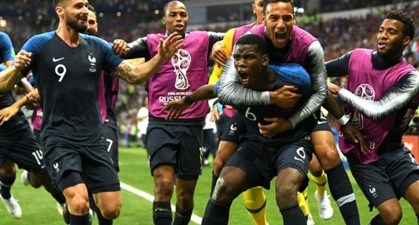 Dünya şampiyonu Fransa