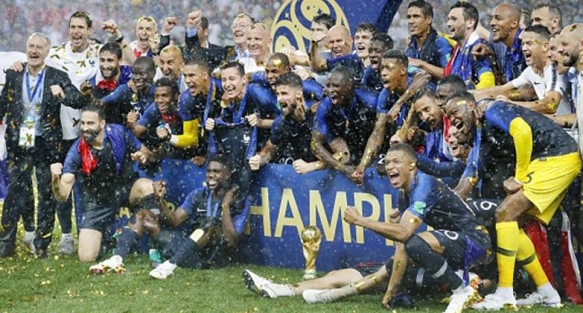 'Dünya Kupası'nı göçmenler kazandı'