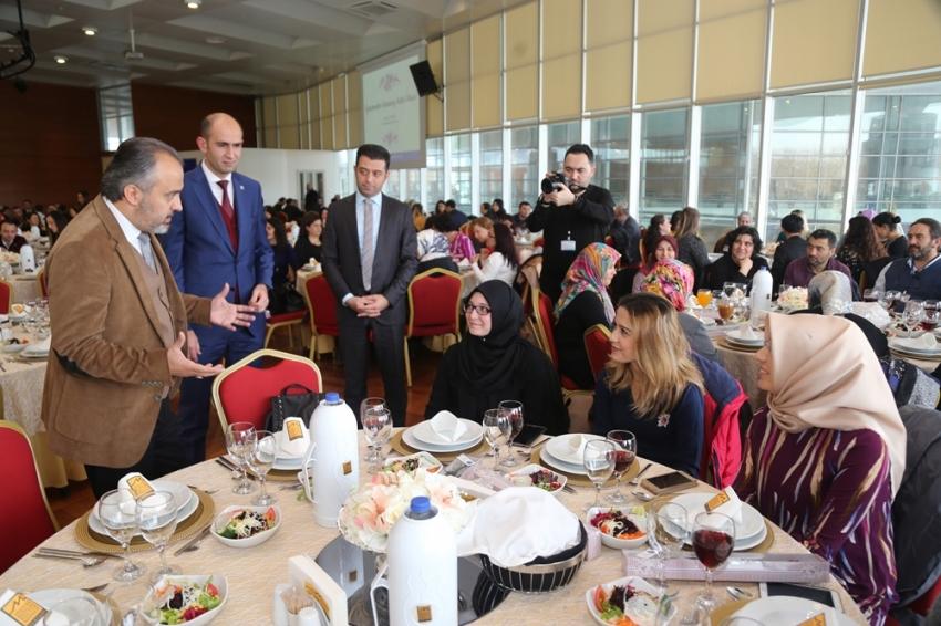 Başkan Aktaş öğretmenlerle buluştu