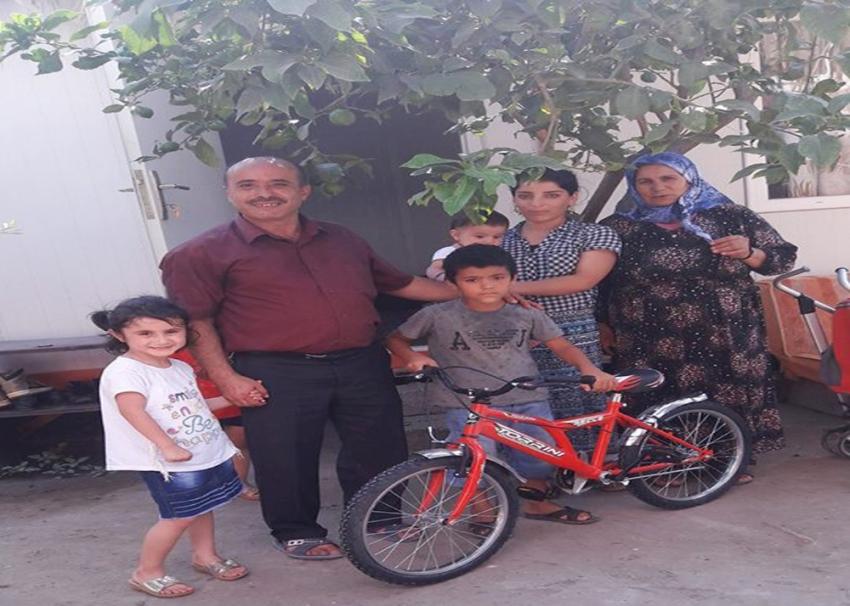 Suriyeli Muhammet'in yüzü güldü