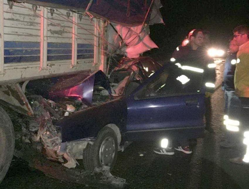 Uşak'ta feci kaza: 2 ölü