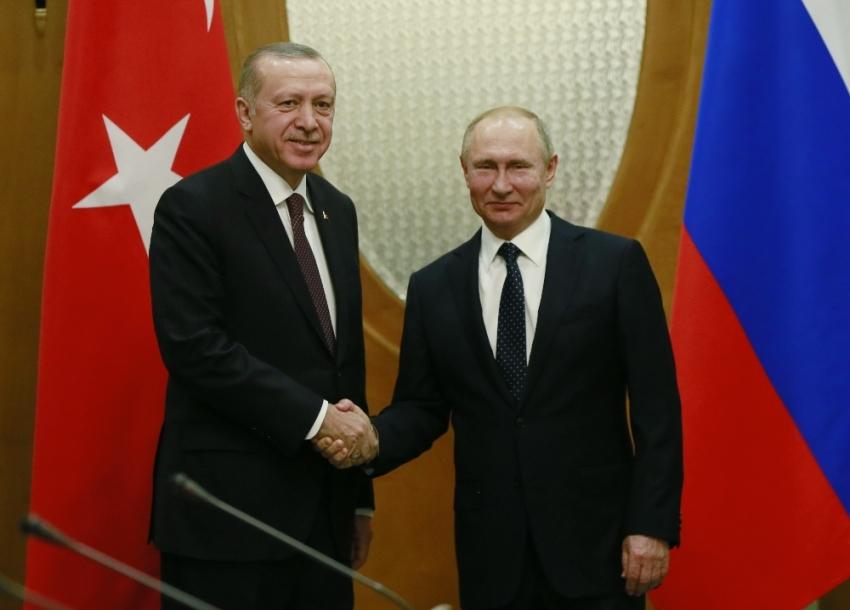"""Erdoğan'dan """"Fırat'ın doğusu"""" mesajı"""