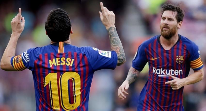 Ödül yine Messi'ye