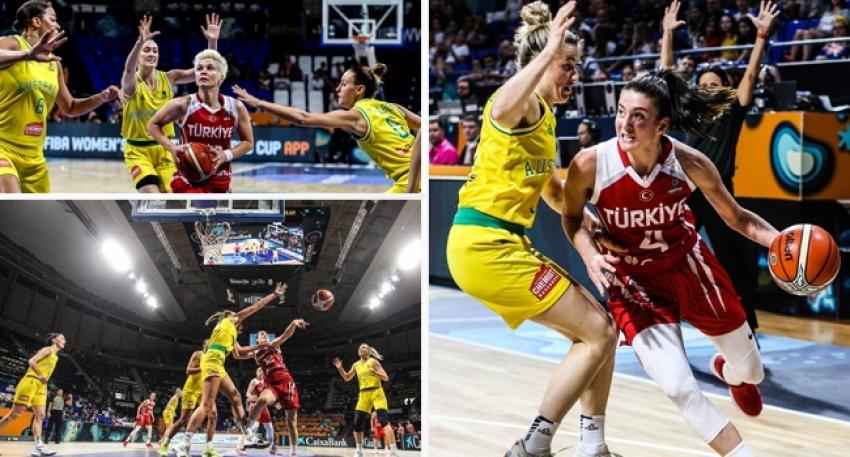 Avustralya 90-64 Türkiye