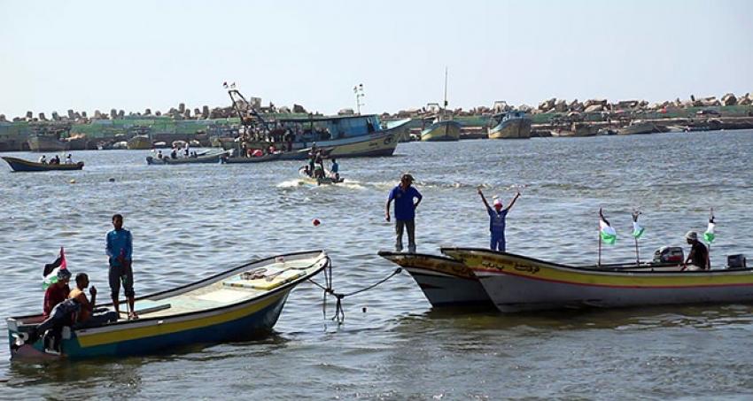 3. Özgürlük Gemisi Gazze Limanı'ndan yola çıktı