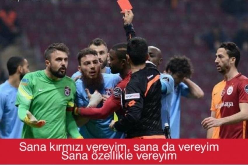 Galatasaray Trabzonspor sosyal medya capsleri