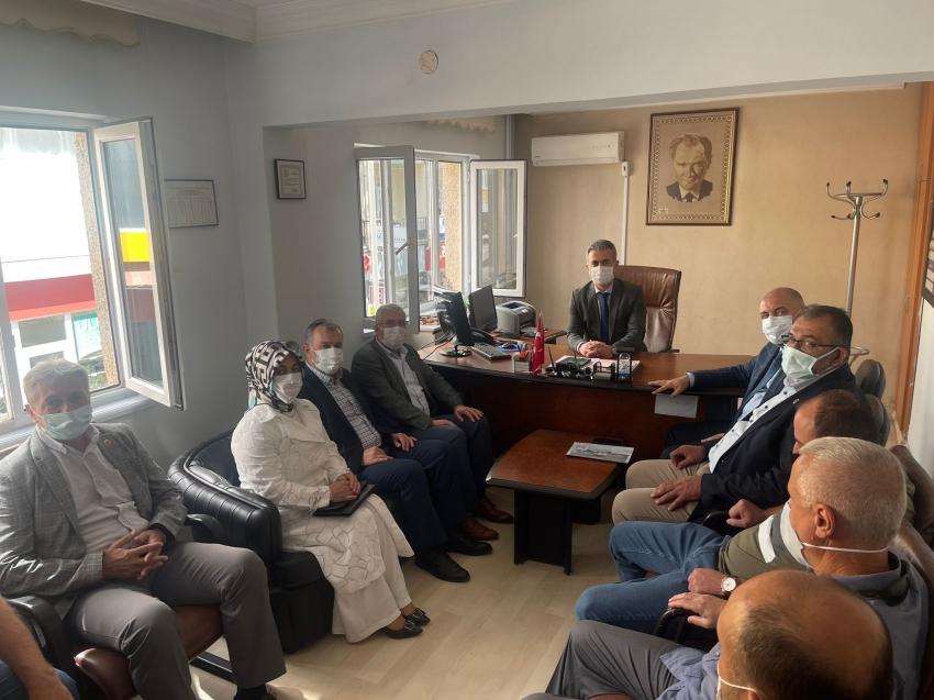 Orhangazi Belediye Başkanı Aydın'dan, İlçe Emniyet Müdürü'ne ziyaret