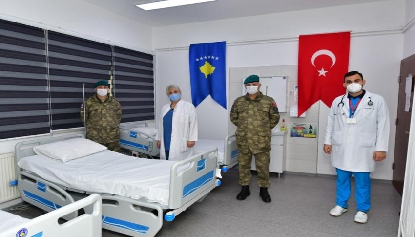 Mehmetçik, Kosova'da sağlık merkezini yeniledi