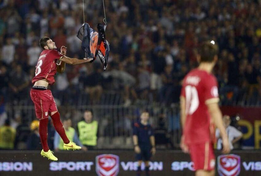 Olaylı maçın galibi Arnavutluk