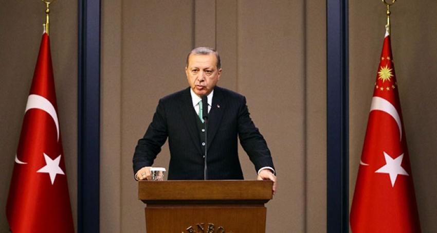 Cumhurbaşkanı Erdoğan Idlibte Muhalifler Bulundukları Alanda