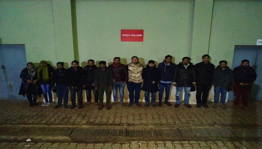 Hudutlardan yasa dışı geçmeye çalışan 3 bin 541 kişi yakalandı