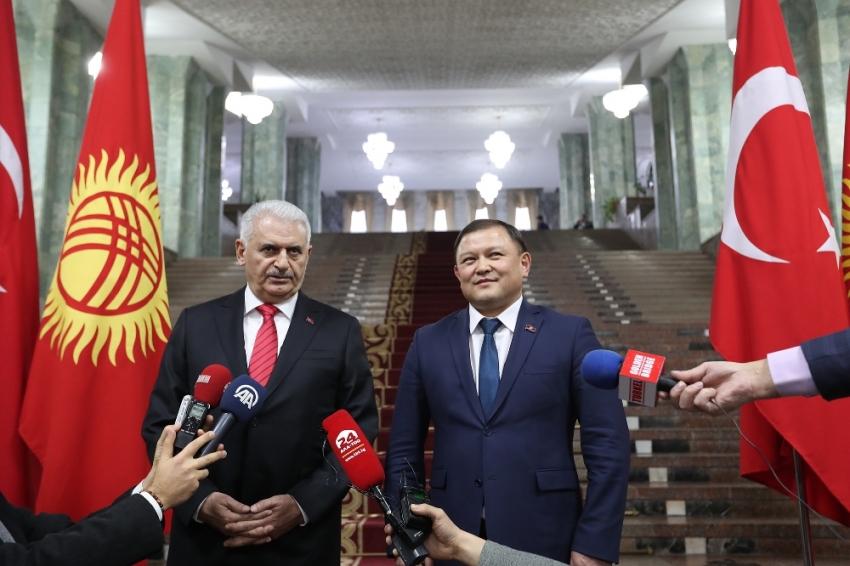 Yıldırım'dan Kırgızistan'a FETÖ uyarısı
