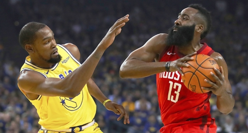 James Harden Golden State'i yıktı