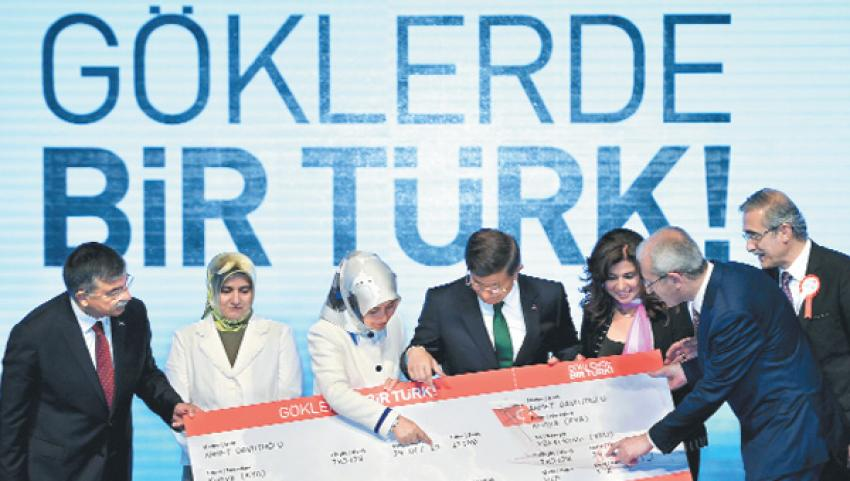 Göklerde bir Türk