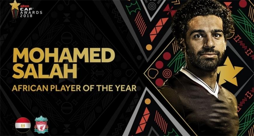 Afrika'da yılın futbolcusu Muhammed Salah
