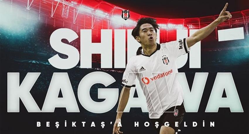 Shinji Kagawa Beşiktaş'ta