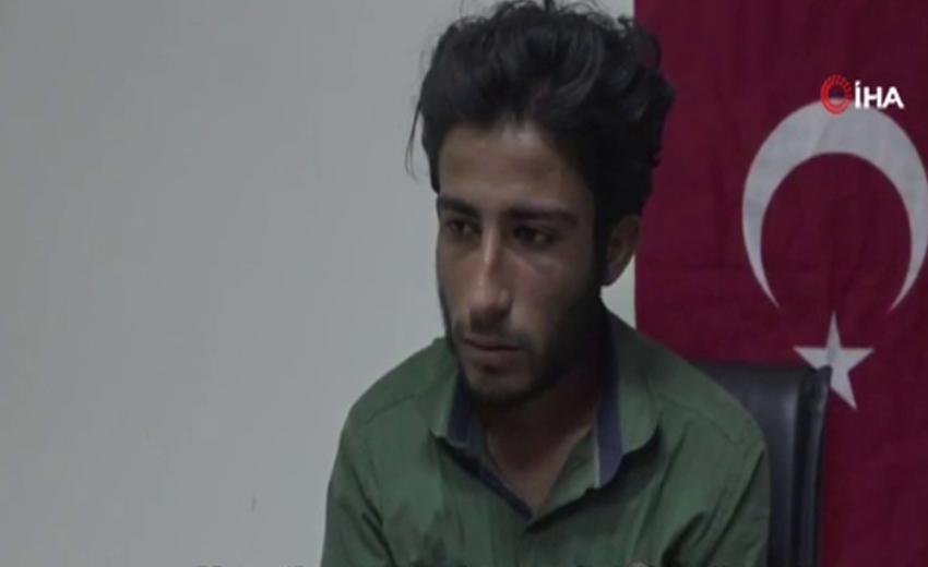 """Teslim olan terörist: """"Siz orada savaşanlar, gelin kendinizi Türk devletine teslim edin"""""""